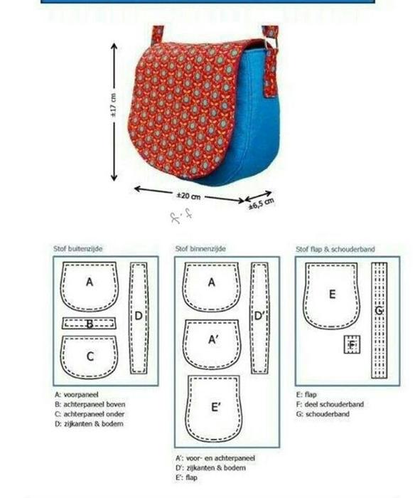 Как сшить сумку через плечо из кожи