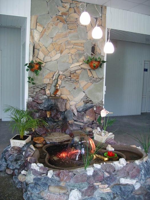 Как сделать фонтан для квартиры