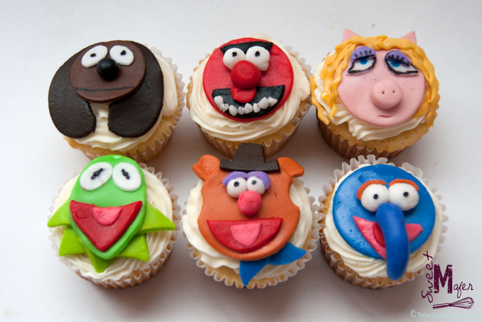 the-muppets-cupcakes (700x468, 339Kb)