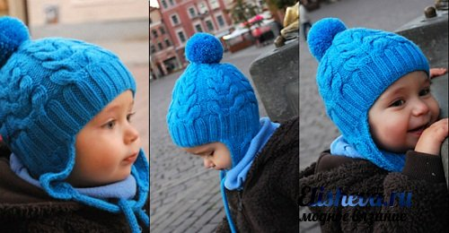 схема вязания шапочки с