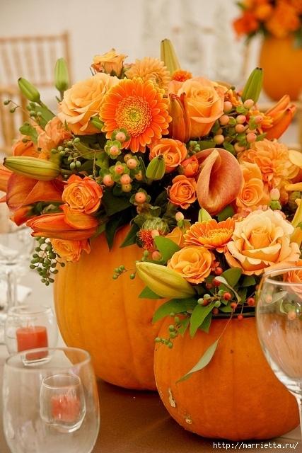 Осенняя флористика. Красивые идеи для украшения интерьера (8) (427x640, 232Kb)