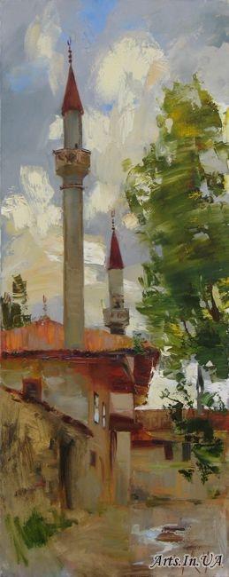 Чепелева Мария Минареты старого дворца 03 (259x650, 95Kb)