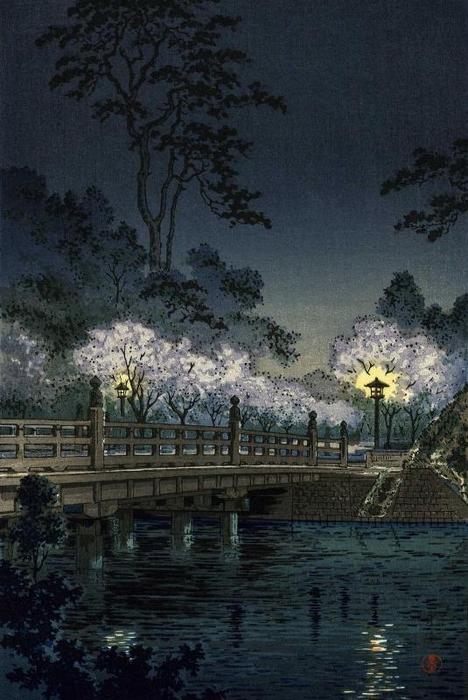 Tsuchiya Koitsu - Benkei Bridge (468x700, 247Kb)