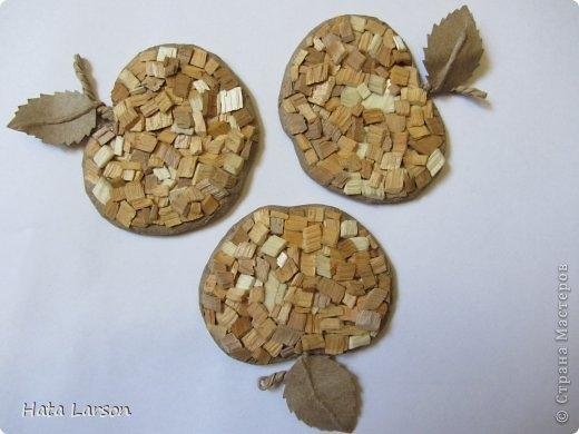 Сувениры - магнитики ЯБЛОЧКИ из картона и прищепок (7) (520x390, 94Kb)