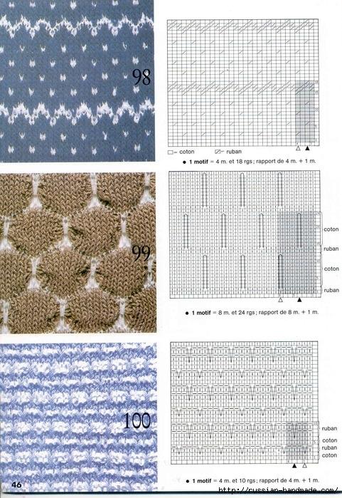 Нежность белого цвета. Пуловер и ажурная туника спицами (6) (481x699, 335Kb)