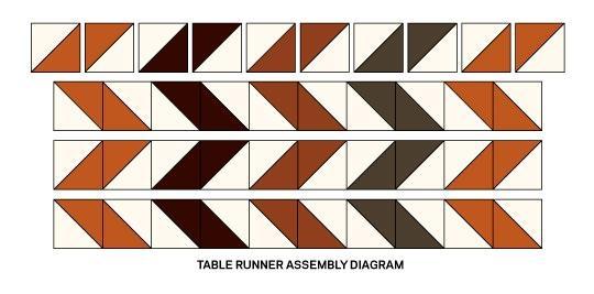 Салфетка в технике пэчворк и текстильные тыковки к Хеллоуину (5) (540x267, 70Kb)