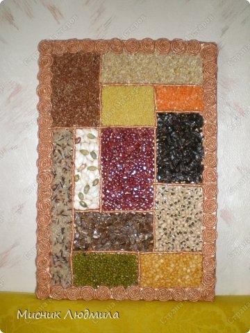 Панно из зерен, крупы и семечек для украшения кухонного интерьера (11) (360x480, 123Kb)