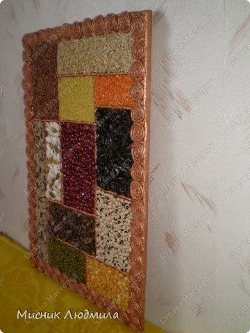 Панно из зерен, крупы и семечек для украшения кухонного интерьера (14) (360x480, 97Kb)