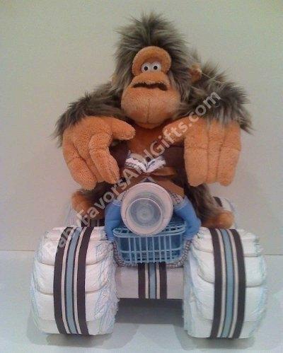 Motocicleta de los pañales - el mejor regalo para un recién nacido.  Master Class (1) (400x499, 97Kb)