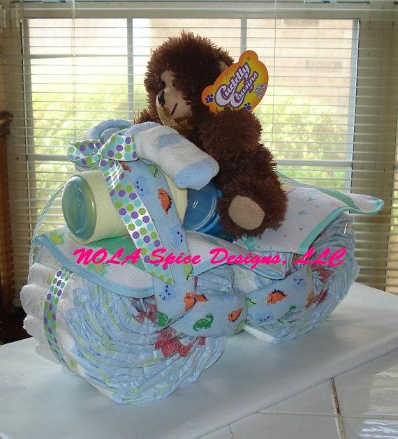 Motocicleta de los pañales - el mejor regalo para un recién nacido.  Master Class (26) (570x629, 237Kb)