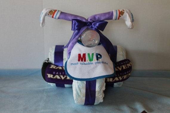 Motocicleta de los pañales - el mejor regalo para un recién nacido.  Master Class (30) (570x380, 94Kb)