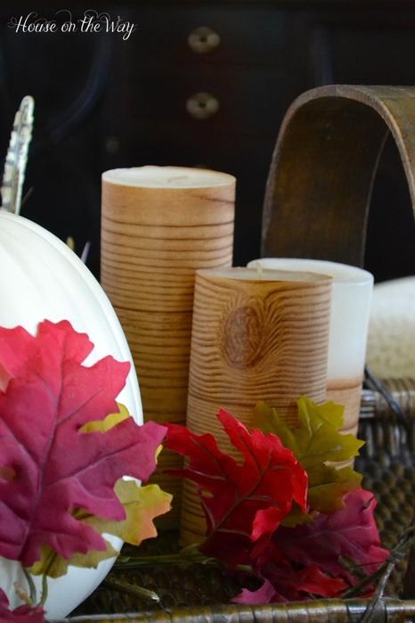 Деревянные свечи для украшения осеннего декора (1) (466x700, 200Kb)