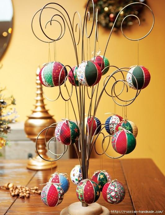 Новогодние шары своими руками. Кинусайга (1) (532x694, 259Kb)