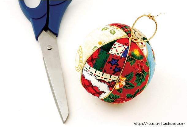 Новогодние шары своими руками. Кинусайга (5) (610x416, 116Kb)