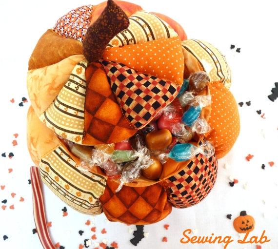 Корзинка - тыква для конфет. Фото идея (1) (570x511, 212Kb)