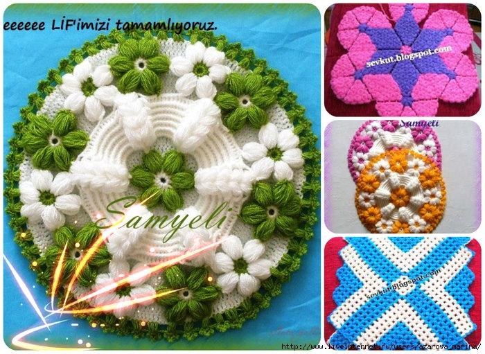 вязание оригинальных летних сумок