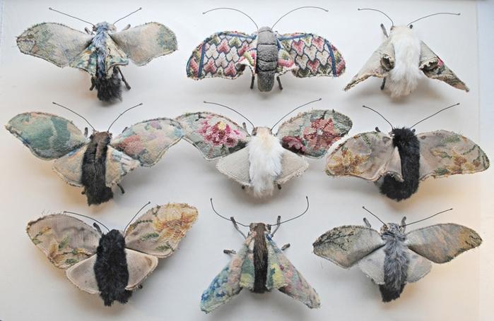 Коллекцию бабочек и моли сшить не хотите? А мистер Финч шьет). Обсуждение на LiveInternet - Российский Сервис Онлайн-Дневников