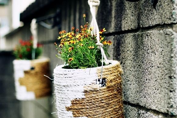 Горшки для цветов из гипса своими руками