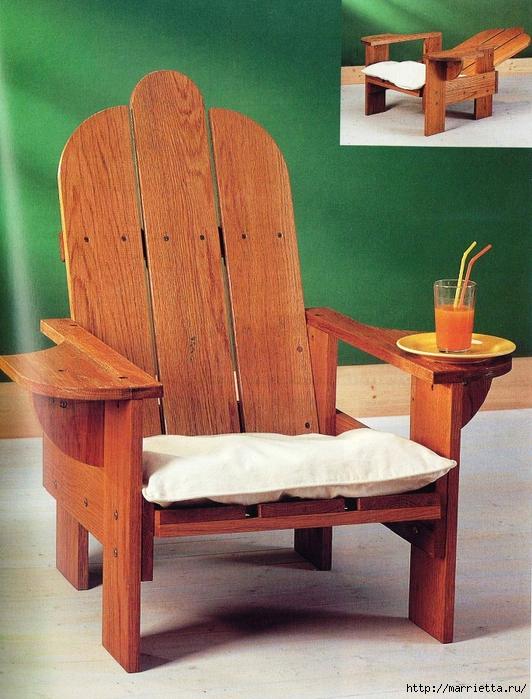 Как сделать стильное кресло из поддонов (11) (532x700, 334Kb)