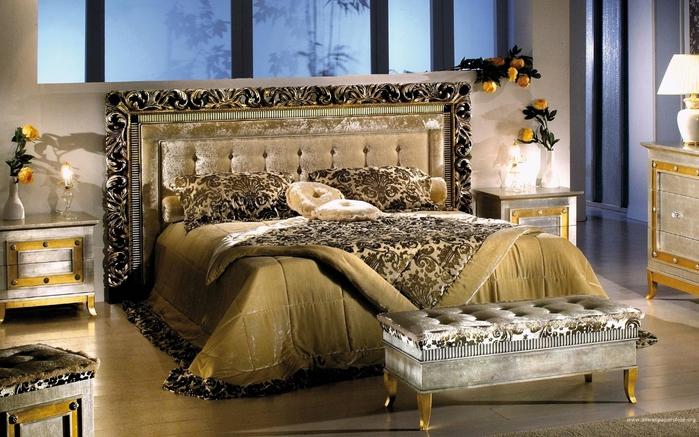 красивый дизайн интерьера спальни1 (700x437, 282Kb)