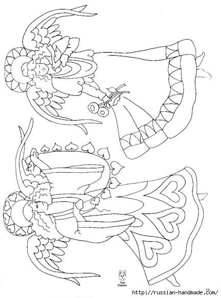 трафареты ангелов (24) (432x581, 123Kb)