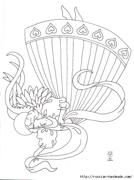 трафареты ангелов (32) (432x579, 115Kb)