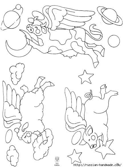 трафареты ангелов (40) (432x588, 115Kb)