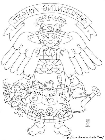трафареты ангелов (44) (432x573, 141Kb)