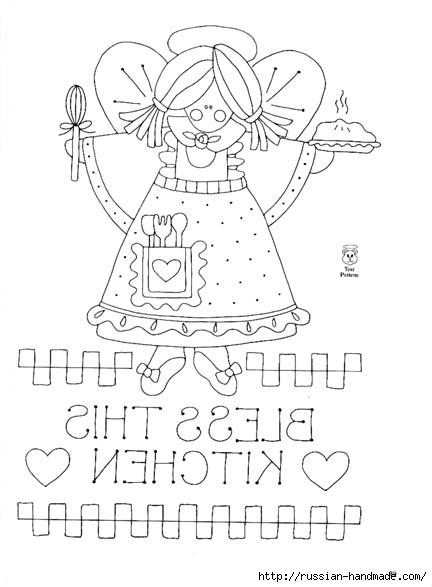 трафареты ангелов (52) (432x587, 98Kb)