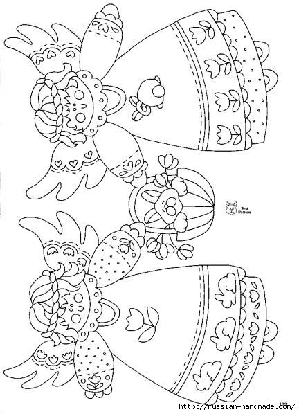 трафареты ангелов (56) (432x598, 154Kb)