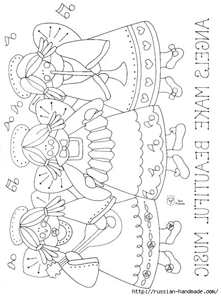 трафареты ангелов (60) (432x579, 139Kb)