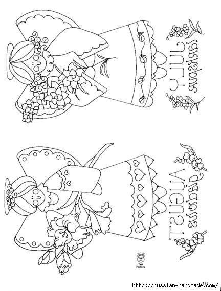 трафареты ангелов (64) (432x569, 123Kb)