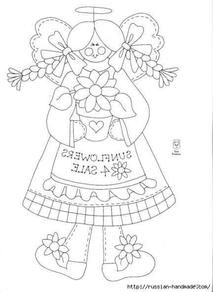 трафареты ангелов (70) (432x591, 96Kb)