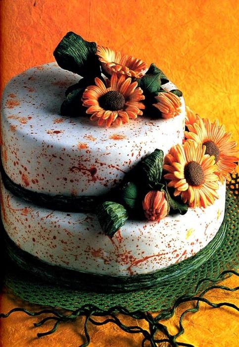 Фото прикрашання тортив