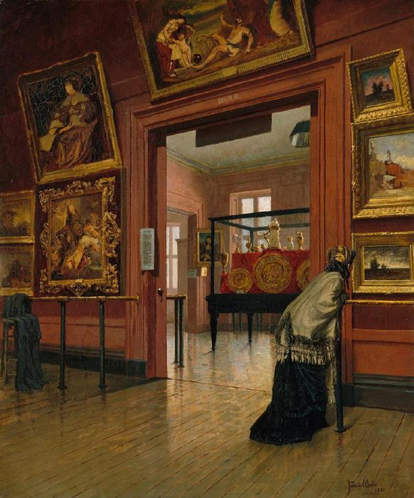 Frank_Waller_-_Interior_View_of_The_Metropolitan_Museum_of_Art_on_Fourteenth_Street (582x700, 70Kb)
