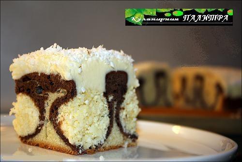 Кокосово-творожный шоколадный пирог УТРЕННЯЯ РОСА (3) (500x334, 98Kb)