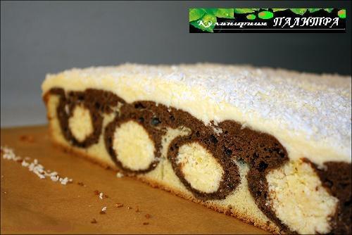 Кокосово-творожный шоколадный пирог УТРЕННЯЯ РОСА (5) (500x334, 102Kb)