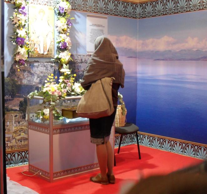 молитва у туфли святого Спиридония Тримифунтского (661x620, 992Kb)