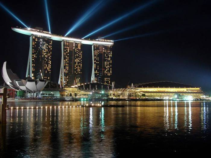 Marina Bay Sands � ��������� - ������� ���� �����