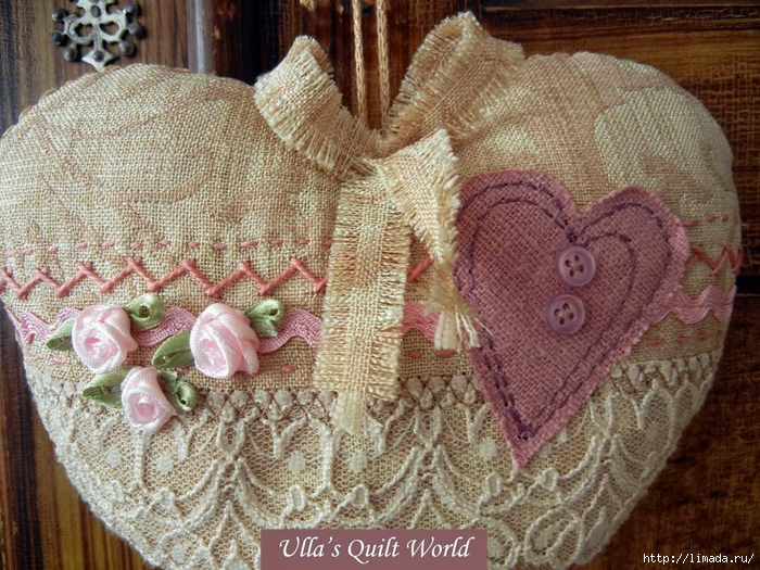 04 Quilted hearts by Ulla's Quilt World DSCN7709 (700x525, 382Kb)