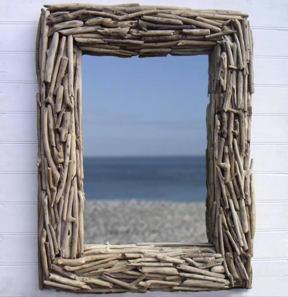 Как сделать зеркало из веток