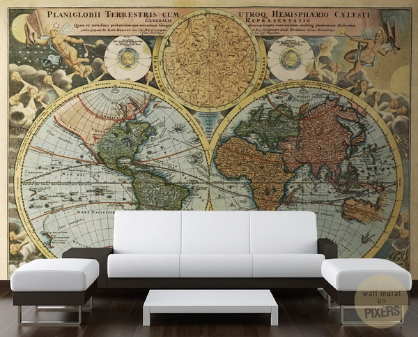 современные фрески фото (600x483, 327Kb)