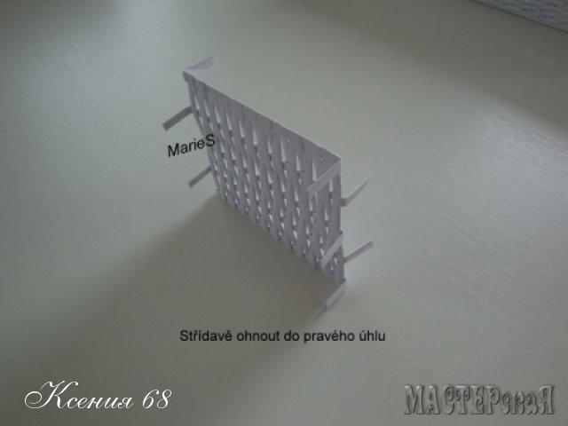 ПЛЕТЕНИЕ ИЗ ГАЗЕТ. Плетенка для специй с перегородками (17) (640x480, 70Kb)