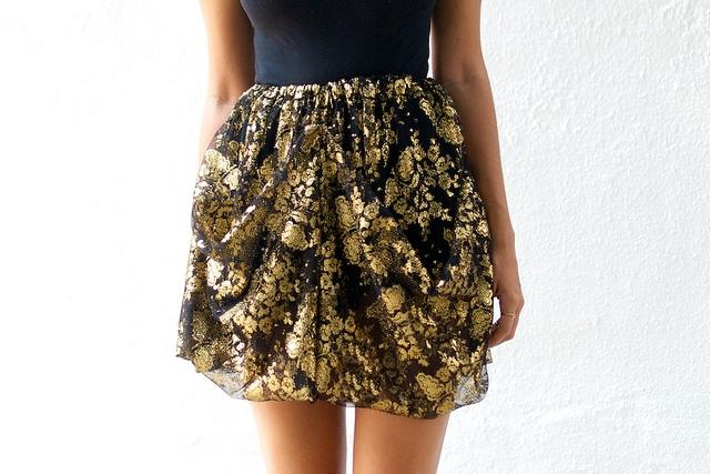 Сшить самой юбку из кружева