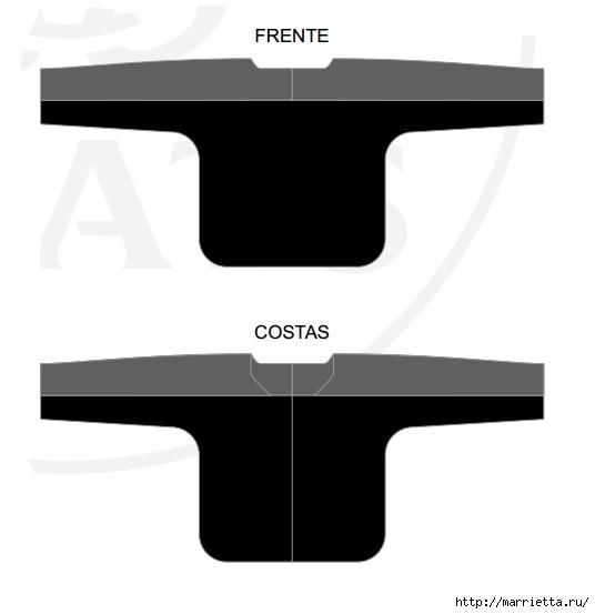 Шьем блузку с кружевной вставкой крючком (4) (536x553, 36Kb)