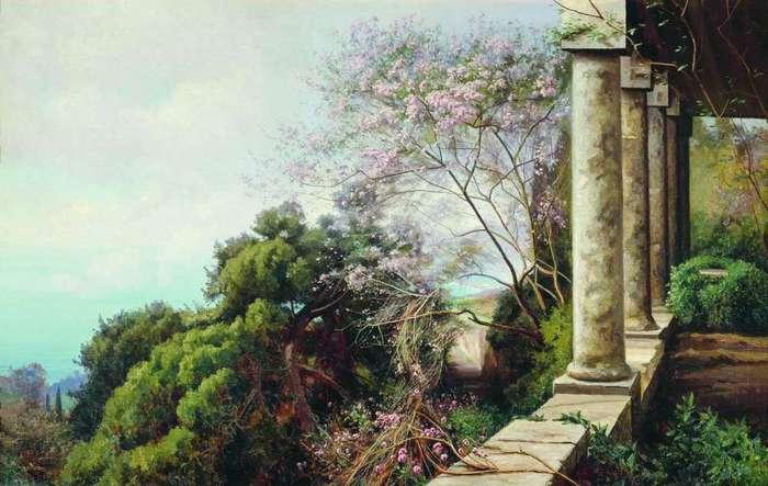 Весна в Крыму 1912 (700x443, 48Kb)