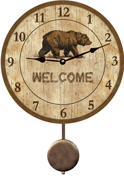 bear-wall-clock (400x568, 360Kb)