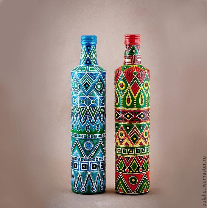 Узор для росписи бутылки