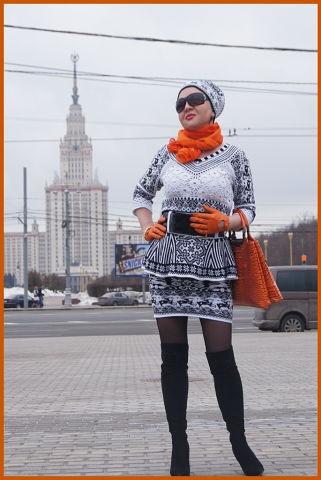 Королева жаккарда Алена Коблянская (321x480, 90Kb)