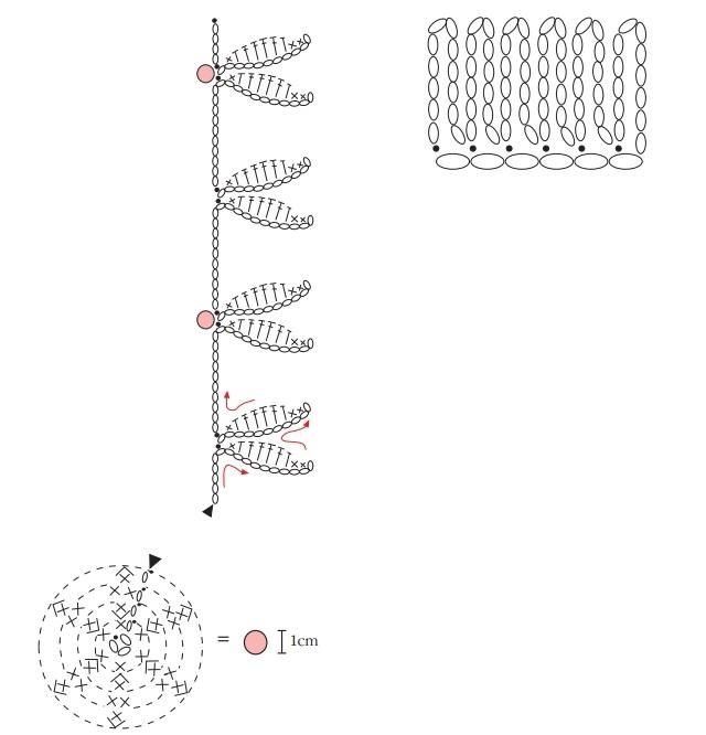Вязание крючком. Украшения своими руками (7) (640x666, 93Kb)